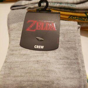 The Legend of Zelda 2 Pair Crew Sock Unisex